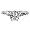 Sterling Silver Fairy Pentacle Bracelet Faerie