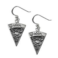 Sterling Silver Mabon Sabbat Dangle Earrings