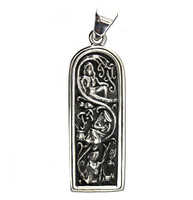 Sterling Silver Maiden Mother Crone Pendant