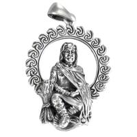 Sterling Silver God Lugh Pendant