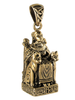 Bronze Norse Freya Goddess of Love Pendant