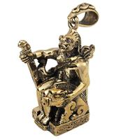 Bronze Norse Freyr God of Harvest Pendant