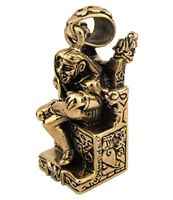 Bronze Norse Loki Trickster Pendant