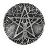 Pewter Tree Pentacle Paten Altar Plate