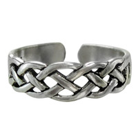 Sterling Silver Celtic Knot Toe Ring