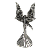 Sterling Silver Storm Caller Angel Fairy Pendant Jewelry By Amy Brown