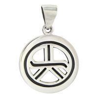 Sterling Silver Tam A Ra Sha Reiki Pendant Jewelry for Energy and Grounding
