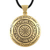 Bronze Wheel Of The Year Pendant