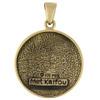 Bronze Met Kalfou Voodoo Veve Pendant Necklace