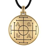 Bronze Medieval Talisman for Wealth Talisman