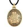 Bronze Talisman to Secure Help of Good Spirits Key of Solomon Amulet Jewelry