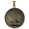 Bronze Sigil of Archangel Zadkiel Enochian Talisman Amulet Angel Jewelry