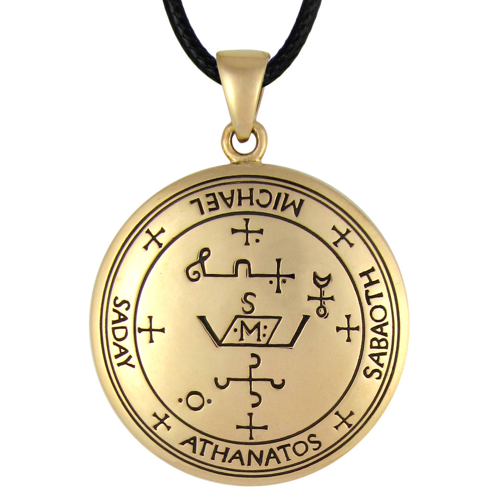 Bronze Sigil of Archangel Michael Talisman