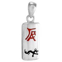 Sterling Silver Chinese Zodiac Dragon Sign Charm Pendant