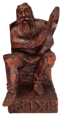 Seated Bragi Statue Norse God of Bards