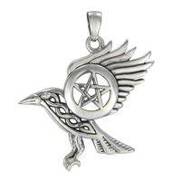 Raven Pentacle Necklace