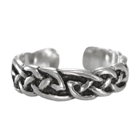 Sterling Silver Celtic Woven Toe Ring