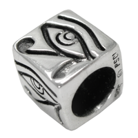 Sterling Silver Egyptian Eye of Horus Bead