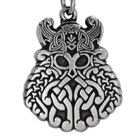 Pewter Odin Viking Warrior Pendant