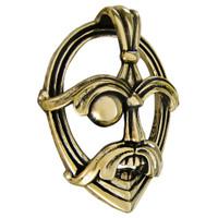 Bronze Odin Norse God Three Dimensional Pendant Jewelry
