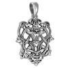 Sterling Silver Cernunnos Celtic Knot Pendant