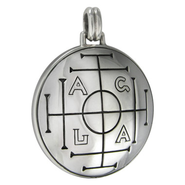 Sterling Silver Medieval Talisman for Money Pendant