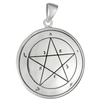Sterling Silver 1st Pentacle of Mercury for Evocation