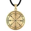 Bronze Sixth Pentacle of the Moon Talisman