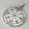 Sterling Silver Second Pentacle of the Sun Talisman