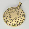 Bronze Third Pentacle of the Sun Talisman