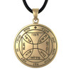 Bronze Seventh Pentacle of the Sun Talisman