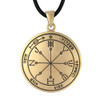 Bronze 6th Pentacle of Mars Victory Talisman