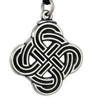 Pewter Viking Skjold Knot Pendant