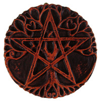 Mini Tree Pentacle Wall Plaque