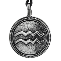 Pewter Aquarius Necklace