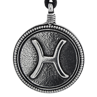 Pewter Pisces Necklace