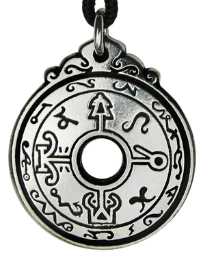 The Healers Talisman - Amulet from The Black Pullet