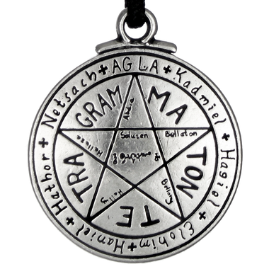 fishhook Talisman for Love Tetragrammaton Pentagram Bangle Leather Bracelet