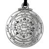 Talisman Pentacle of Solomon - Amulet from Key of Solomon