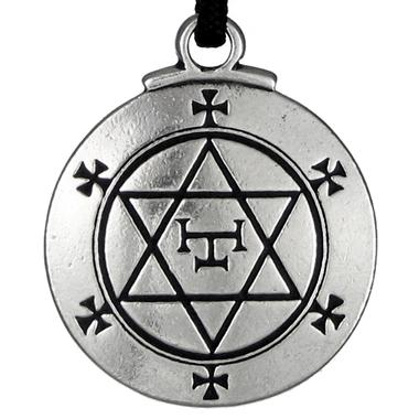 Talisman Hexagram of Solomon - Amulet from Key of Solomon
