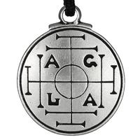 Medieval Money Talisman Prosperity Amulet Pentacle Pendant Hermetic Pagan Wiccan Jewelry
