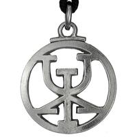 Icelandic Binding Rune Obtain Riches Pendant Galdrastafir Viking Jewelry Asatru Necklace