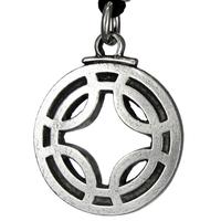 Icelandic Binding Rune Fulfills Wishes Pendant Galdrastafir Viking Jewelry Asatru Necklace