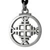 Pewter Binding Rune for Repelling Evil