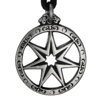 The Faery Star Pewter Pendant Necklace