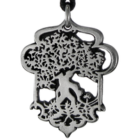Celtic Tree of Life Pewter Pendant Necklace
