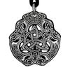 Pewter Celtic Eagle Necklace