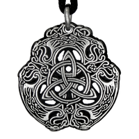 Pewter Celtic Eagle Necklace
