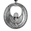Isis Egyptian Goddess of Magic Pewter Pendant Necklace