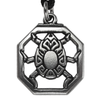 Pewter Egyptian Scarab Necklace